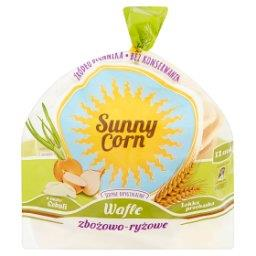 Sunny Corn Wafle zbożowo-ryżowe o smaku cebuli  (12 ...