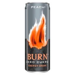 Peach Gazowany napój energetyczny