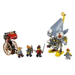 Klocki Lego Ninjago Piranha Attack 70629