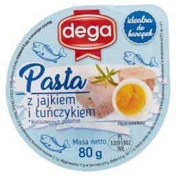 Pasta z jajkiem i tuńczykiem