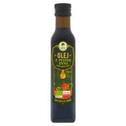 Ekologiczny olej z pestek dyni tłoczony na zimno