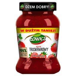 Łowicz Dżem truskawkowy o obniżonej zawartości cukró...