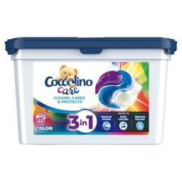 Care Kapsułki 3w1 do prania kolorowych tkanin  (40 p...
