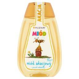 Miód pszczeli nektarowy akacjowy