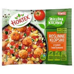 Zielona kuchnia Roślinne klopsiki z ryżem i warzywam...