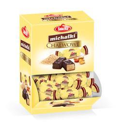 Cukierki czekoladowe Michałki chałwowe