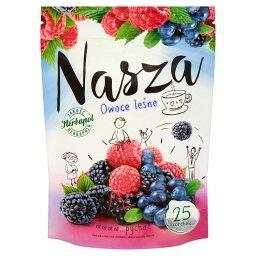 Nasza Owoce leśne Herbatka owocowo-ziołowa  (25 torebek)