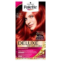 Deluxe Oil-Care Color Farba do włosów Rubin 678