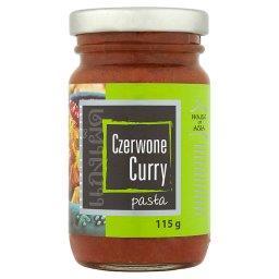 Czerwone curry Pasta