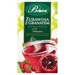 Premium żurawina z granatem Herbatka owocowa 40 g (2...