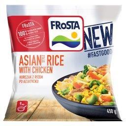 Asian Style Rice with Chicken Kurczak z ryżem po azj...