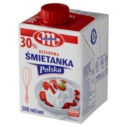Śmietanka Polska deserowa 30%
