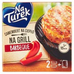 Camembert na grill barbeque