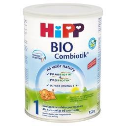 BIO Combiotik 1 Ekologiczne mleko początkowe dla niemowląt od urodzenia