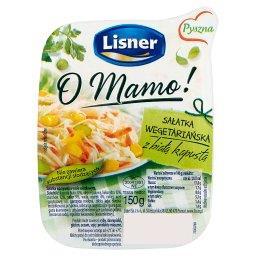 O Mamo! Sałatka wegetariańska z białą kapustą