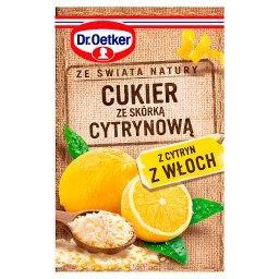 Ze świata natury Cukier ze skórką cytrynową