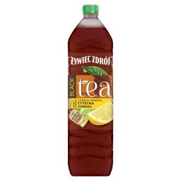 Black Tea Napój niegazowany czarna herbata cytryna l...