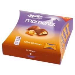 Moments Czekolada mleczna Toffee Wholenut  (11 sztuk...