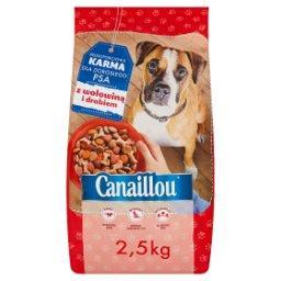 Pełnoporcjowa karma dla dorosłego psa z wołowiną i d...