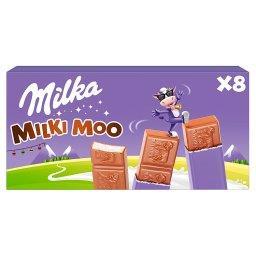 Milki Moo Batoniki z czekolady mlecznej z nadzieniem...