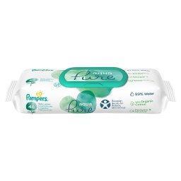 Aqua Pure Chusteczki nawilżane dla niemowląt 1 opakowania = 48 chusteczek nawilżanych