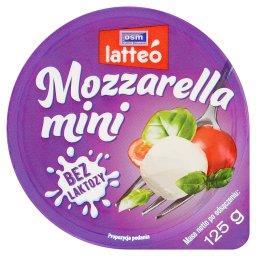 Latteó Mozzarella mini bez laktozy 125 g