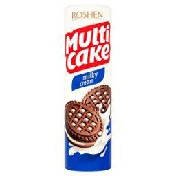 Multi Cake Milky Cream Kruche ciastka z nadzieniem m...