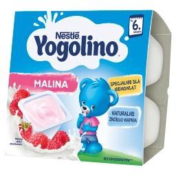 Yogolino Deserek mleczno-owocowy malina dla niemowlą...