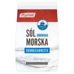 Sól morska jodowana gruboziarnista