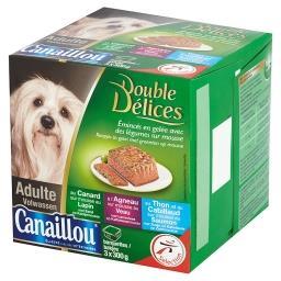 Pasztet dla psa Pełnoporcjowa karma dla dorosłych psów