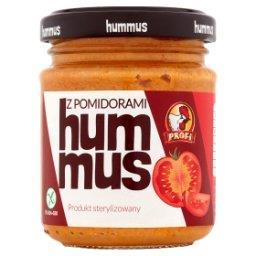 Hummus z pomidorami
