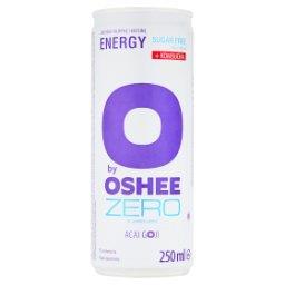 O by  Zero Gazowany napój energetyzujący o smaku jagód acai-goji
