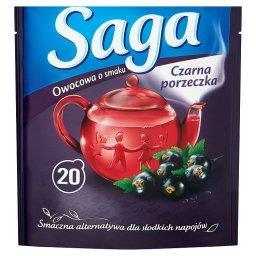 Herbatka owocowa o smaku czarna porzeczka  (20 torebek)