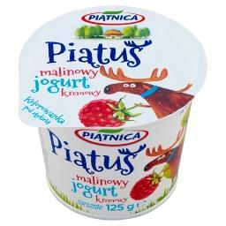Piątuś Jogurt kremowy malinowy