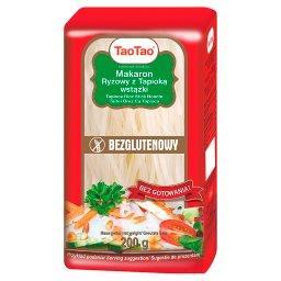Makaron ryżowy z tapioką wstążki