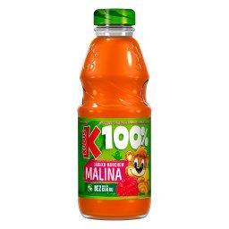100% Sok jabłko marchew malina