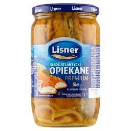Śledź atlantycki Opiekane premium filety w zalewie o...