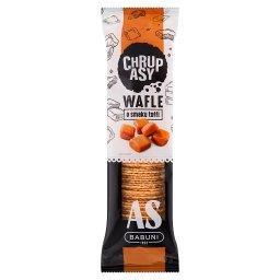 Chrupasy Wafle o smaku toffi