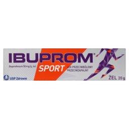 Sport 50 mg/g Żel