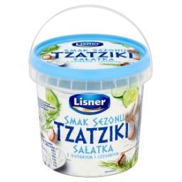 Smak Sezonu Tzatziki Sałatka z ogórkiem i czosnkiem