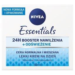 Essentials Lekki krem na dzień cera normalna i miesz...