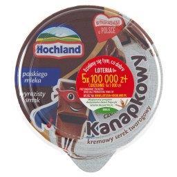 Kanapkowy serek kremowy czekoladowy