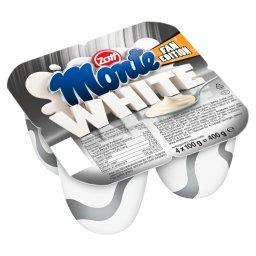 Monte White Deser mleczny 400 g (4 x )