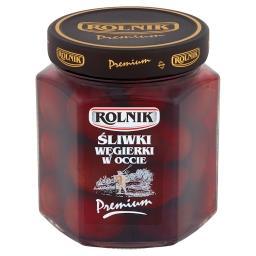 Premium Śliwki węgierki w occie 540 g