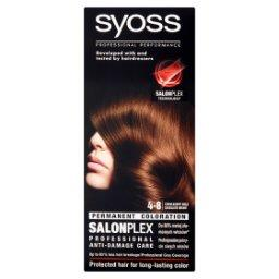 SalonPlex Farba do włosów czekoladowy brąz 4-8