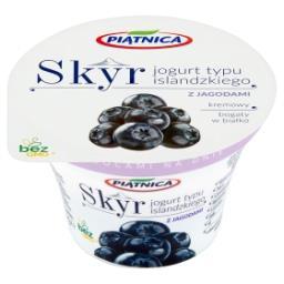 Skyr Jogurt typu islandzkiego z jagodami