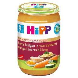 BIO Kasza bulgur z warzywami mango i kurczakiem po 9...