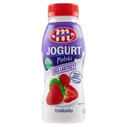 Jogurt Polski bez laktozy truskawkowy
