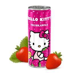 Napój niegazowany hello kitty truskawka, puszka 250 ml