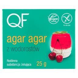 Roślinna substancja żelująca agar agar z wodorostów